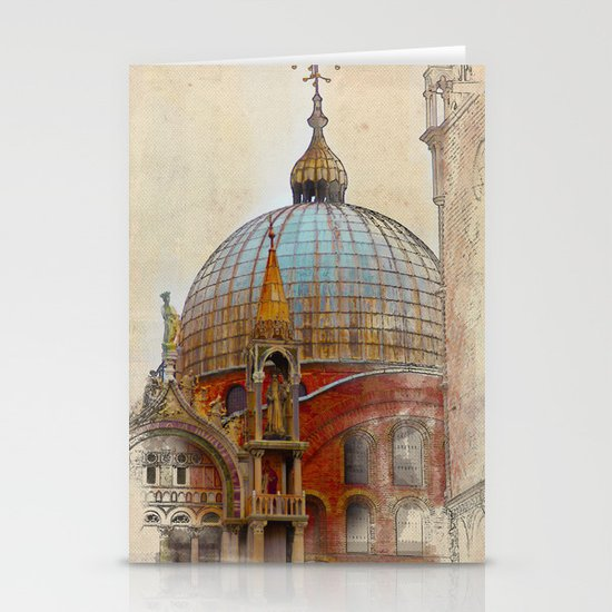 VENEZIA Stationery Card