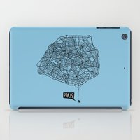 Spidermaps #1 Dark iPad Case