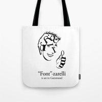 'Font'-zarelli Tote Bag