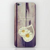 Think Happy iPhone & iPod Skin