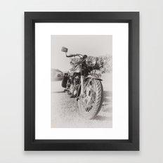 Norton Dominator  Framed Art Print