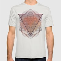 Syyrce Mens Fitted Tee Silver SMALL
