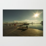 Barcelona Waterfront  Canvas Print