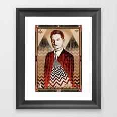 Twin Peaks ∆∆ Framed Art Print
