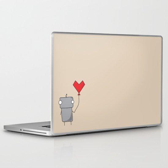 Robo Love Laptop & iPad Skin