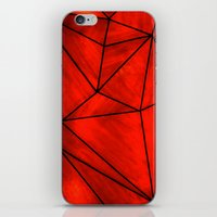 Modern Abstract Triangle Pattern iPhone & iPod Skin