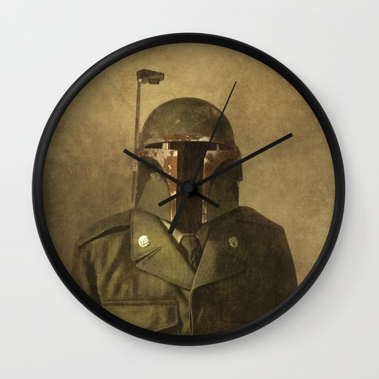 General Fettson (square format)  Wall Clock
