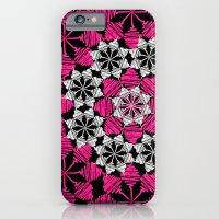 Squiggle Pink iPhone 6 Slim Case