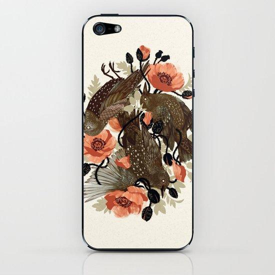 Spangled & Plumed iPhone & iPod Skin