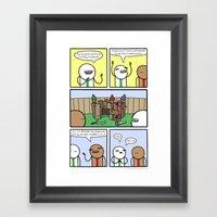 Antics #359 - Constructi… Framed Art Print