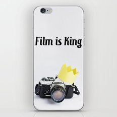Film is King iPhone & iPod Skin