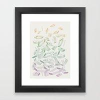 Muddled Framed Art Print