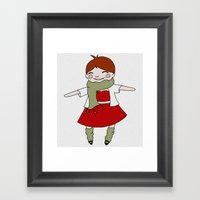 Joy And Good Cheer Framed Art Print