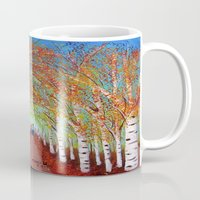 Autumn Birch  Mug