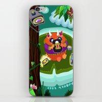 Fred Tifenn iPhone & iPod Skin