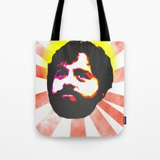 Zach Galifianakis Died for our Sins Tote Bag