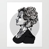 Volume Art Print