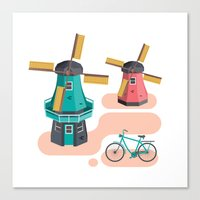 Holland Icon Canvas Print
