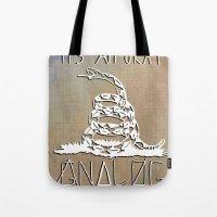 Gnalog (Analog Zine) Tote Bag