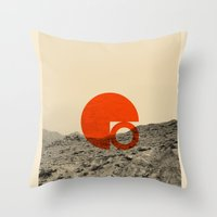 Symbol Of Chaos Invert V… Throw Pillow