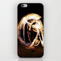 FIRE DANCE 2 iPhone & iPod Skin