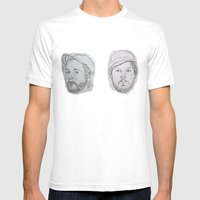 Modest Beards Mens Fitted Tee White SMALL
