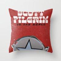 Scott Pilgrim VS The World Throw Pillow