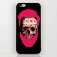 THE AUTUMN BIKER iPhone & iPod Skin