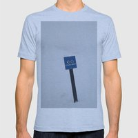 Extreme Terrain Mens Fitted Tee Athletic Blue SMALL