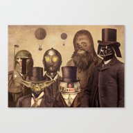 Victorian Wars (A2 Forma… Canvas Print
