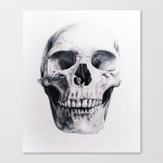 Skull Drawing Canvas Print