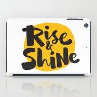 Rise & Shine iPad Case