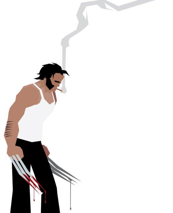 Basic Paper - Wolverine Art Print