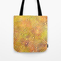 Rainbow Drizzle Tote Bag