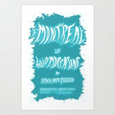 Of Montreal & Wild Moccasins Art Print