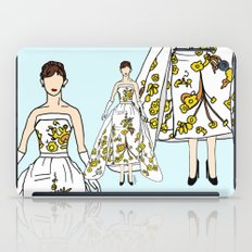 Audrey Hepburn Vintage Retro Fashion 2 iPad Case