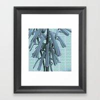 VERBENA VINTAGE Framed Art Print