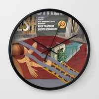Vans And Color Magazine … Wall Clock