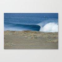 Empty Runner, Baja Canvas Print