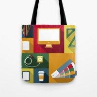Designer flat tools Tote Bag