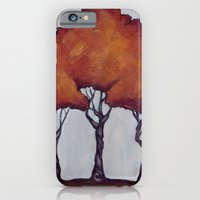 iPhone & iPod Case featuring Fall Crepe Myrtles by Christa Rosenkranz
