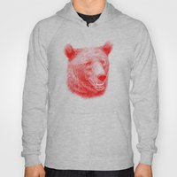 Brown Bear Is Red And Pi… Hoody