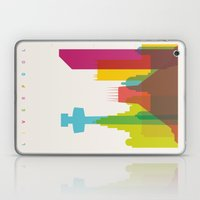 Shapes of Liverpool. Accurate to scale. Laptop & iPad Skin