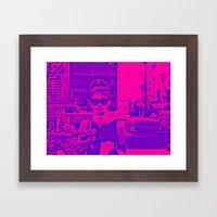 Style Icon Framed Art Print