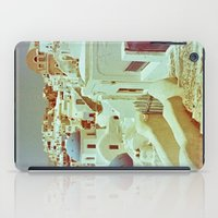 Santorini in Raspberry and Blue II: shot using Revolog 600nm special effects film iPad Case