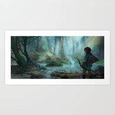 Zelda 2015  Art Print