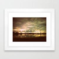You In A Landscape Framed Art Print