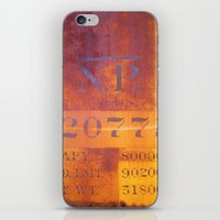 Freight-car detail iPhone & iPod Skin