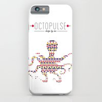 iPhone & iPod Case featuring Octopulse | Design by sea by Sunsetlive