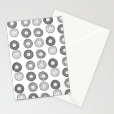 Hipsters Listen To Music Stationery Cards